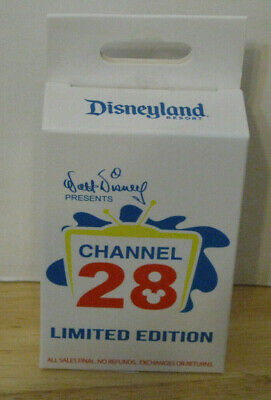 DLR PTN Disney Afternoon Channel 28 Mystery Pins Sealed Box of 2 pins LE400