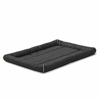 """MidWest Home for Pets 36"""" QuietTime Maxx Ultra Dog Bed for Metal Crates, Black"""