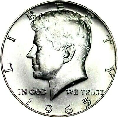 1965 P Kennedy Half Dollar 40% SILVER  *SPECIAL MINT SET* (SMS)  *FREE SHIPPING*