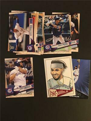2019 Topps Big League Toronto Blue Jays Master Team Set 13 Cards With Inserts