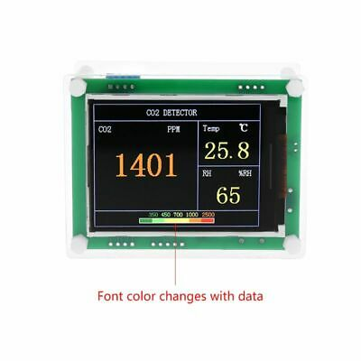 Digital Dioxide Detector Tester Air Monitor CO2 Temperature Humidity Analyzer