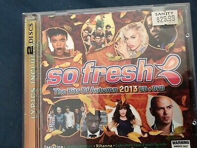SO FRESH - The Hits Of Autumn 2013 - Various CD / DVD