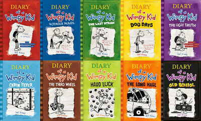 Diary Of A Wimpy Kid 10 BOOK COLLECTION! PDF EPUB KINDLE