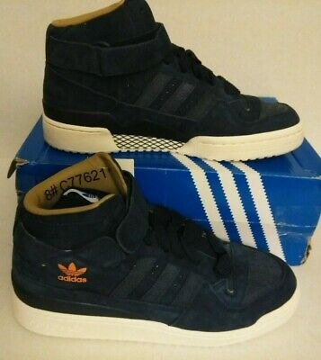 Adidas Originals forum mid navy blue suede  Mens Shoes new in box