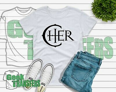 Cher T-shirt 2019 Tour - Cher - Here we go again - Kids Womens Mens unisex