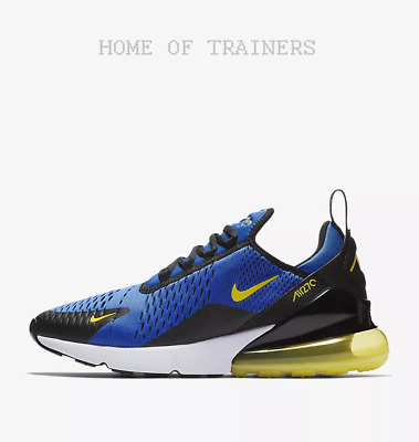 NIKE AIR MAX 270 Jeu Royal Blanches Noires Chamois Homme