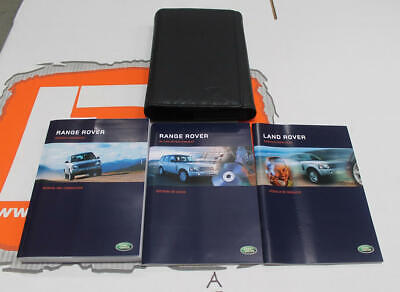 VDC50012SPA(w) SPANISH Range Rover L322 Owners hand book service portfolio + In