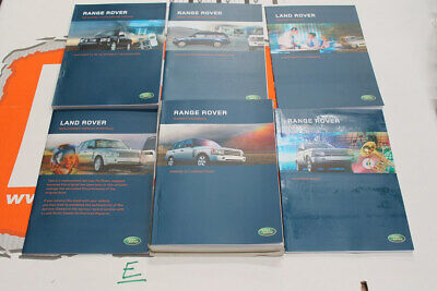 VDC500200FRE FRENCH Range Rover L322 Owners hand book service portfolio + audio