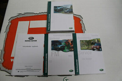 VDC000010DUT DUTCH Range Rover P38 Owners hand book service portfolio + audio