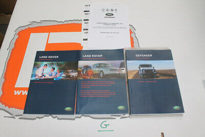 VDC501960 FRENCH Land Rover Defender td5 Owners hand book service portfolio + wa