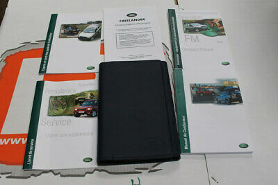 VDC100680FRE FRENCH Freelander 1 Owners Hand Book Pack + Wallet