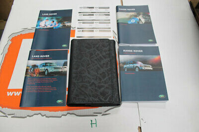 VDC500190SWE SWEDISH Range Rover L322 Owners Hand Book Pack + Wallet