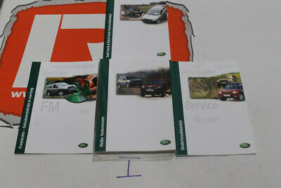 VDC100680DUT DUTCH Freelander 1 Owners hand book service portfolio + audio