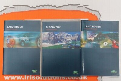 VDC500070 ENGLISH Discovery 2 Owners hand book service portfolio + audio