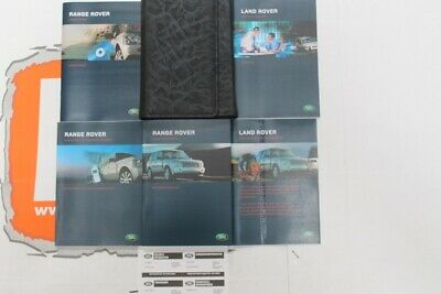 VDC501840 GERMAN Range Rover L322 Owners hand book service portfolio + audio