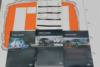 VDC502230 DANISH Land Rover Freelander 1 Owners Handbook pack