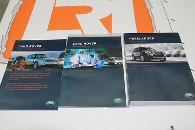 VDC502180 FRENCH Freelander 1 owners hand book service portfolio + audio