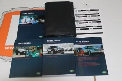 VDC502300ITA ITALIAN Freelander 1 Owners hand book + service portfolio pack with