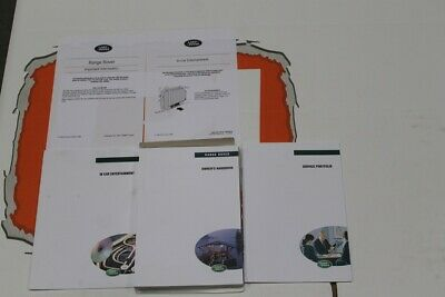 VDC101360 ENGLISH Range Rover P38 Owners Hand Book service Pack