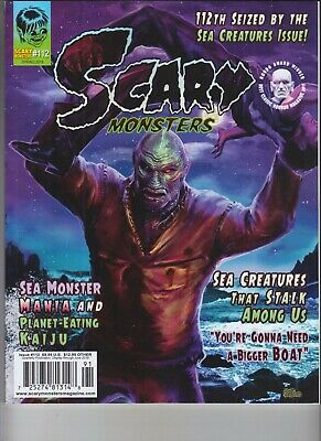 Scary Monsters Magazine Issue #112 2019 Sea Creatures That Stalk Among Us