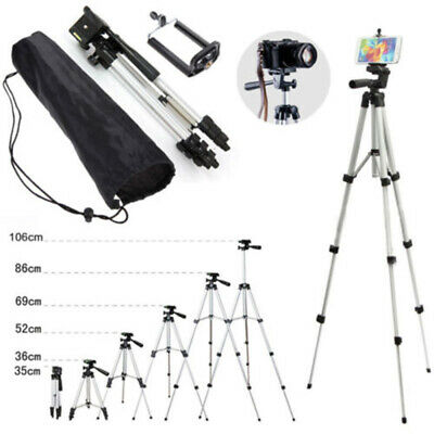 Professional Aluminium Portable Travel Camera Tripod For DSLR Canon Nikon New