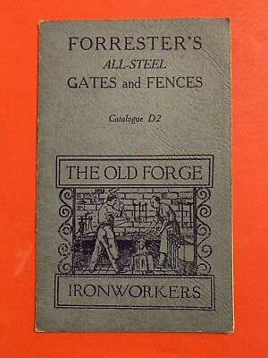 vintage FORRESTER'S GATES & FENCES Catalogue - Wrought Iron - Farm Gates