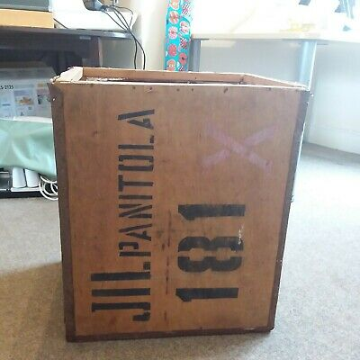 Vintage Wooden Tea Chest, collection from ip1