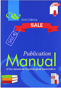 Publication Manual of The APA 6th Edition American Psychological Association