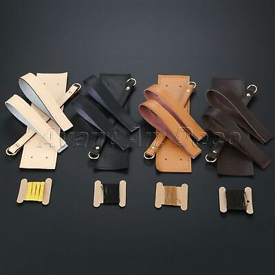 1Set 4Colors DIY Leather Bag Handle & Side & Bottom For Bag Straps Accessories