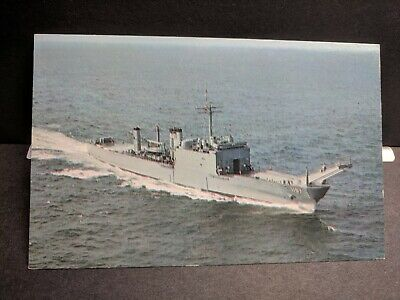USS BARNSTABLE COUNTY LST-1197 Naval Cover Unused Post Card