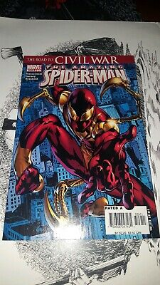 Amazing Spider-man 529 1st Iron Spider-man Avengers Civil War Marvel Far home