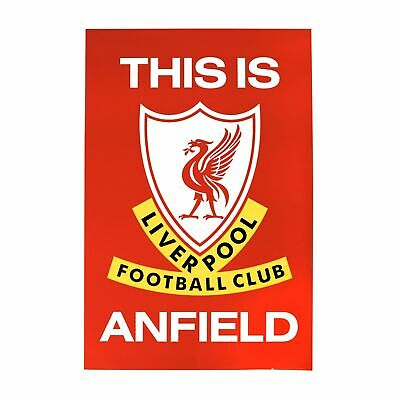 Liverpool FC LFC This Is Anfield Poster Official Full Size Free Postage