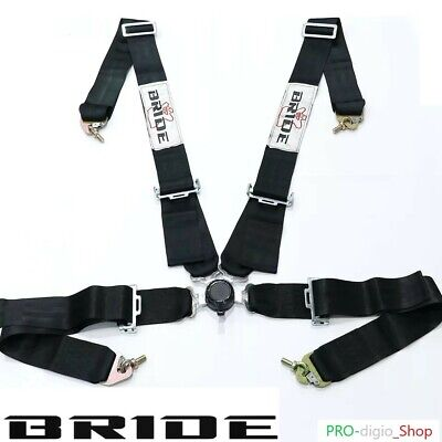 Cintura Bride Racing Di Sicurezza Universale 4Point Racing Harness Safety Belts