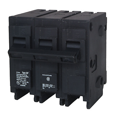 Q3100 100-Amp Three Pole Type QP Circuit Breaker