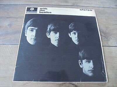 The Beatles - With The Beatles 1963 UK LP PARLOPHONE STEREO 1st w/JOBETE CREDIT