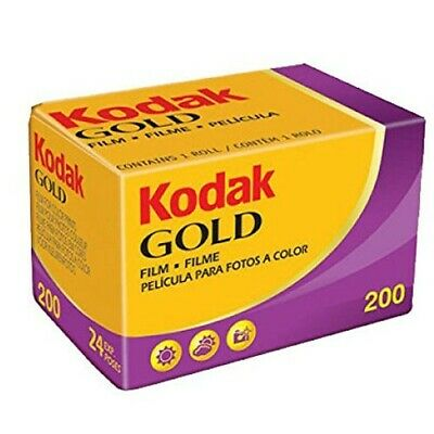 Kodak Gold 200 color Film Pack 135 (24 Exposures) ***Fast Free Postage***