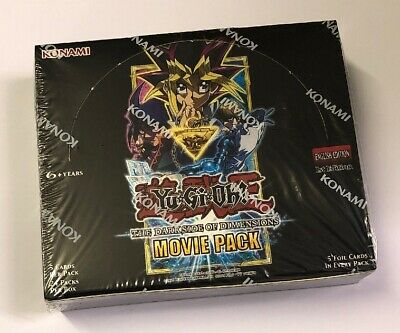 Yu-Gi-Oh! The Dark Side of Dimensions Movie Pack Booster Box Sealed 1st Edition