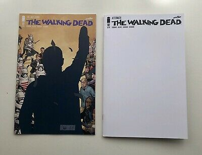 Image Comics - The Walking Dead #191 & #192 Blank Variant, Death Of Rick Grimes