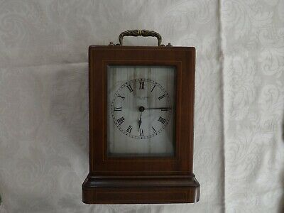 Old Wooden Case Carriage Clock