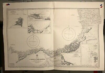 Black Sea Navigational Chart / Hydrographic Map # 2236, Yasun Anakria Poti Rizeh