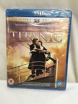 Titanic - Collector's Edition (Blu-ray 3D + Blu-ray) [1997] Brand New Sealed