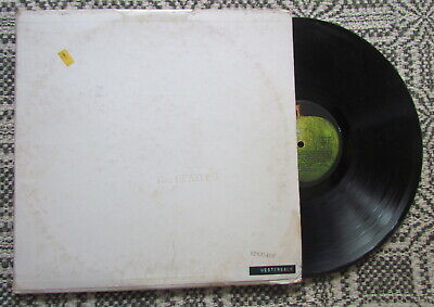 The Beatles The White Album vinyl LP SWBO-101 embossed numbered with photos