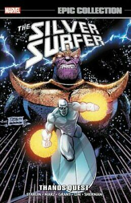 Silver Surfer Epic Collection: Thanos Quest by Alan Grant 9781302911867