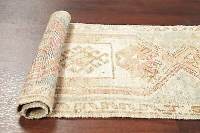 Antique Tribal 2x3 MUTED Oushak Turkish Distressed Area Rug Oriental Hand-made