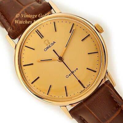 Omega Genève Cal.601, 9Ct, 1969 - Fully Restored And Immaculate!