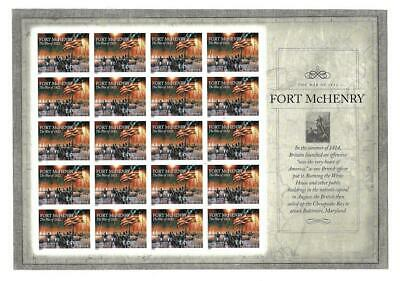Us Scott 4921 Fort Mchenry Pane Of 20 Imperf Stamps Forever Mnh