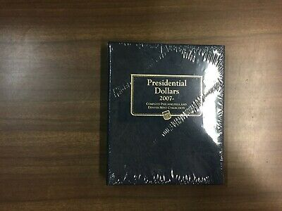 Whitman Classic Coin Album # 2227 For Presidential Dollars From 2007-2016, P & D