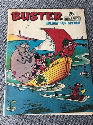 Buster Holiday Fun Special comic 1975 VFN