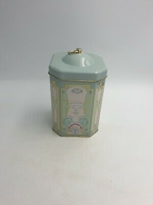 Marks Spencer Cage Hook Tin Boulangerie French Art Nouveau Style Duck Egg Blue