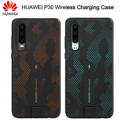 Original HUAWEI P30 Wireless Charging Magnetic Protective Case Hellow Cover Skin